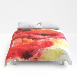 Poppy Love Comforters