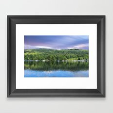 Windermere reflections Framed Art Print