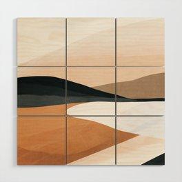 Abstract Art Landscape 15 Wood Wall Art