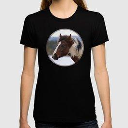 Tri-Colored Horse T-shirt