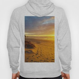 Cannon Beach Oregon at Sunset Haystack Rock Hoody