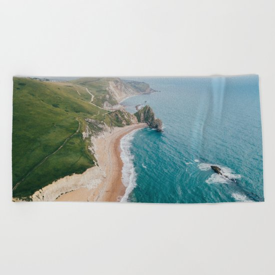 Coastal Drive Beach Towel