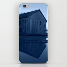Warehouse Reflection in Blue iPhone & iPod Skin