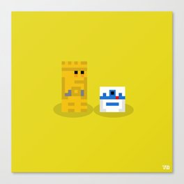 Not The Droids You're Looking For?... Canvas Print
