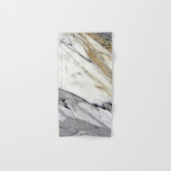 Calacatta Marble Hand & Bath Towel