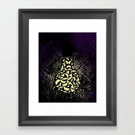 Dark Attraction Framed Art Print