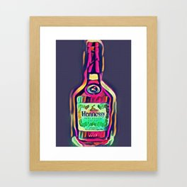 Henny Purple Edition Framed Art Print