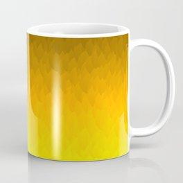 Black, orange, yellow ombre flames Coffee Mug