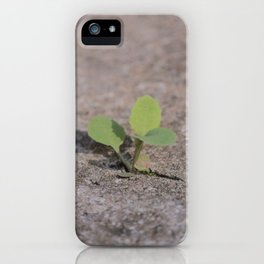 Life Will Find A Way iPhone Case