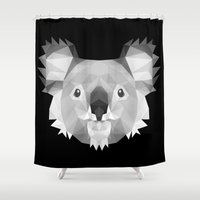 koala Shower Curtains featuring Koala by Taranta Babu