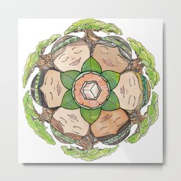 Earth Dreaming Metal Print