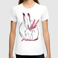 jackalope T-shirts featuring Jackalope - Rose by Jen Overstreet