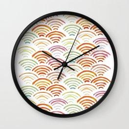 Baesic Watercolor Wifi Swash Wall Clock