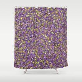 Blobs Shower Curtain