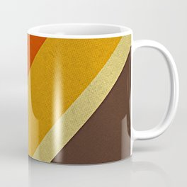 Retro 70s Color Palette Coffee Mug