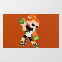 Inkling Boy (Orange) - Splatoon Rug