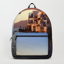 Mykonos Glow Sunset Backpack