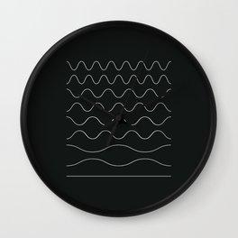 between waves Wall Clock