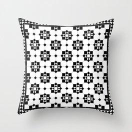 Victorian Floor Tile Pattern 3 Throw Pillow