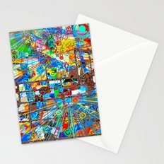 ブラックホワイト (Goldberg Variations #8) Stationery Cards