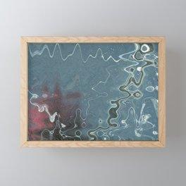 Fault Lines Framed Mini Art Print