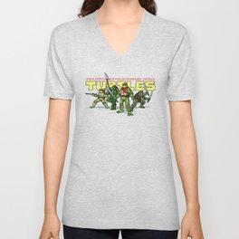 Philippine Revolutionary Ninja Turtles Unisex V-Neck