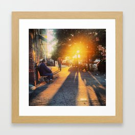 Brooklyn Sunrise Framed Art Print