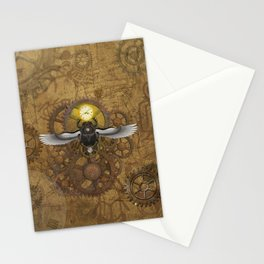 Egyptian Steampunk Stationery Cards