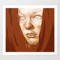 fifth element Art Prints featuring The Fifth Element by Doruktan Turan