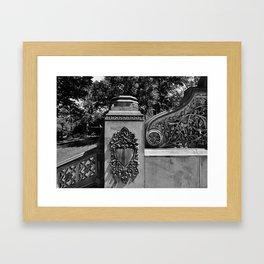 'CENTRAL PARK' Framed Art Print