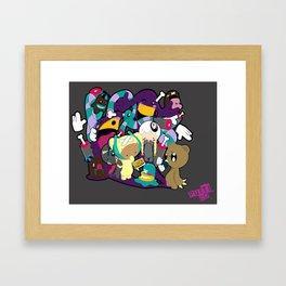 The Rescue Framed Art Print