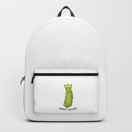 Funny Pickle Queen Funny Cucumber Pickle Girl Backpack