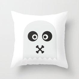 Ghost sSs #society6 #decor #buyart #artprint Throw Pillow