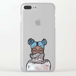 Intergalactic Style Clear iPhone Case