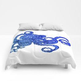 Ombre Octopus Comforters