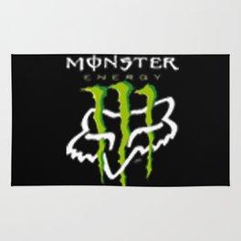 Monster fox racing Rug