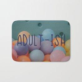 Adult-ish balls Bath Mat