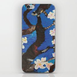 blossoming almond tree iPhone Skin