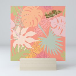 Melon Palms Mini Art Print