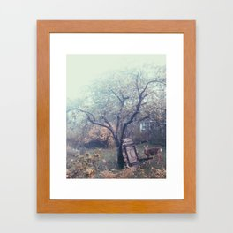 Årstaviken Framed Art Print
