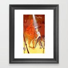 Need for backup? Framed Art Print