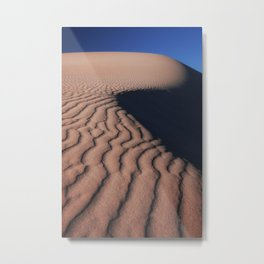 Sand dunes in South Africa Metal Print