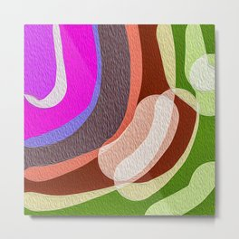 Modern art with different colors Metal Print