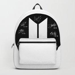 LOGO BTS Backpack