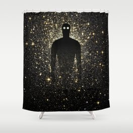 TRANSHUMANISM Shower Curtain