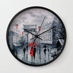 Arc de Triomphe Wall Clock