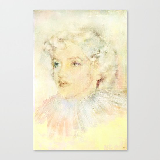 Portrait of an icon Canvas Print