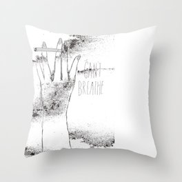 Second Hand Throw Pillow