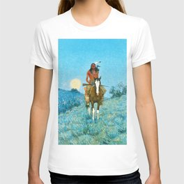 Frederic Remington - The Outlier, 1909 T-shirt