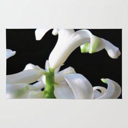 white hyacinthe Rug